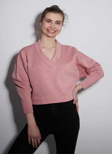 Take7 Sweatshirt Pudra